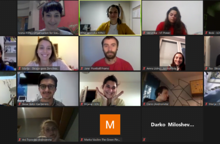 First online meeting and training – RISE Journey, launched! image